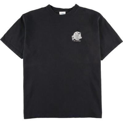 プラネットハリウッド PLANET HOLLYWOOD ST.LOUIS アドバタイジングTシャツ USA製 メンズL /eaa162852