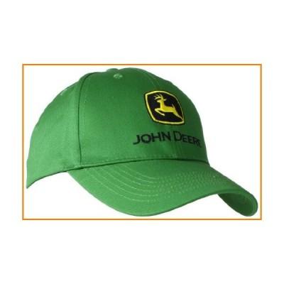 John Deere 刺繍ロゴベースボールハット フリーサイズ メンズ John Deere グリーン_並行輸入品