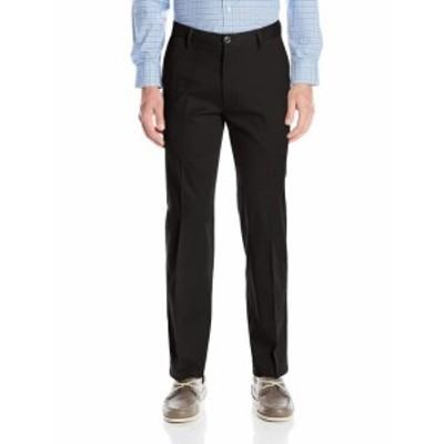 dockers ドッカーズ ファッション パンツ Dockers NEW Black Mens Size 32X34 Straight Fit Khakis Stretch Pants
