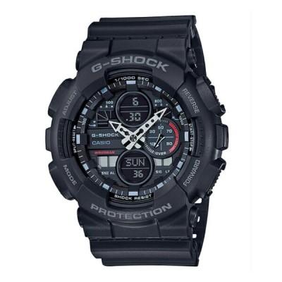 G-SHOCK Gショック ジーショック カシオ CASIO アナデジ 腕時計 ブラック GA-140-1A1 逆輸入海外モデル