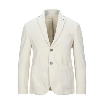 EN AVANCE テーラードジャケット アイボリー 46 コットン 97% / ポリウレタン 3% テーラードジャケット
