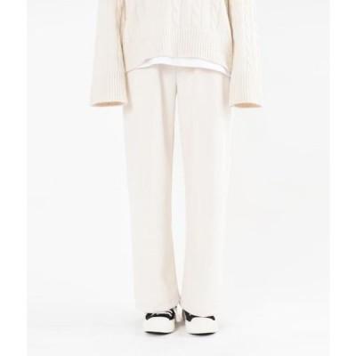 MIXXMIX レディース パンツ Basic Drawstring Waist Pants