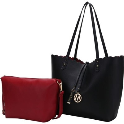 MKFコレクション メンズ トートバッグ バッグ Amahia Reversible Shopper tote/ Shoulder Bag with Cosmetic Pouch