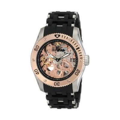 Invicta Men's 10351 Sea Spider Stainless Steel & Polyurethane Bracelet Mechanical Watch 並行輸入品