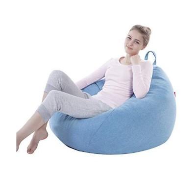 ビーズクッション 豆袋 ソファー なまけ者ソファー ソファ 座椅子 座布団 軽量 取り外し可能 洗える 腰痛 低反