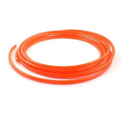 uxcell ポリウレタンエアーホース オレンジ 5m 16Ft 外径6mm IDポリウレタン ホース パイプ