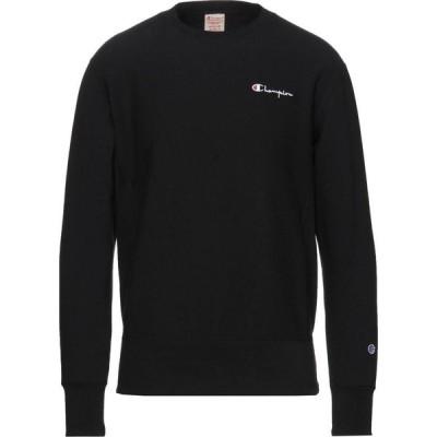 チャンピオン CHAMPION メンズ スウェット・トレーナー トップス sweatshirt Black