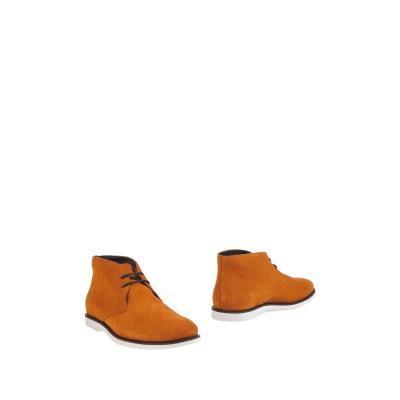ホーガン HOGAN ショートブーツ 赤茶色 6 革 ショートブーツ