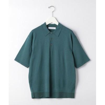 green label relaxing/グリーンレーベル リラクシング < 機能 / 手洗い可 > CSD ペーパー 天竺 ポロシャツ KELLY XL