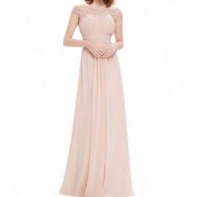 パーティードレス ワンピース ロングドレス フレア レース 春 夏 ドレッシー 結婚式 お呼ばれ パーティー 大きいサイズ 20代 30代 40代