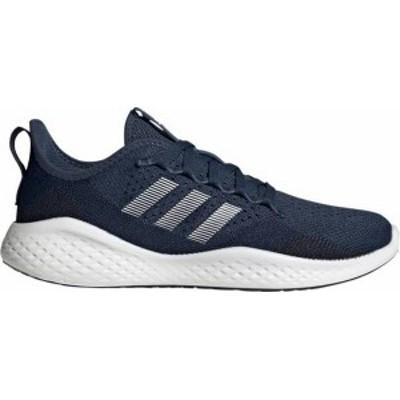 アディダス メンズ スニーカー シューズ adidas Men's Fluidflow 2.0 Running Shoes Legend Ink/White