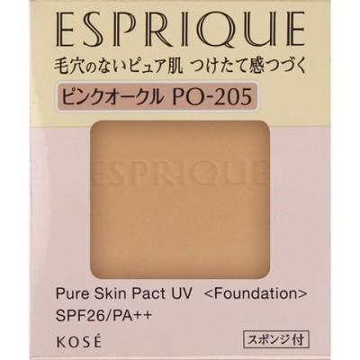 エスプリーク ピュアスキン パクト UV PO−205 ピンクオークル (9.3g)