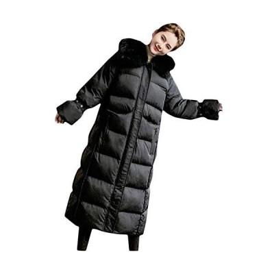 BeiBang(バイバン)コート レディース ロングコート ファーフード 厚手 中綿コート 防寒着 保温 中綿ジャケット ?
