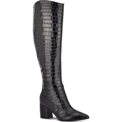 マーク フィッシャー Marc Fisher レディース ブーツ シューズ・靴 Retie Knee-High Boots Black Croco