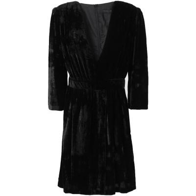 アンナリータ エンネ ANNARITA N ミニワンピース&ドレス ブラック 38 レーヨン 75% / ナイロン 25% ミニワンピース&ドレス