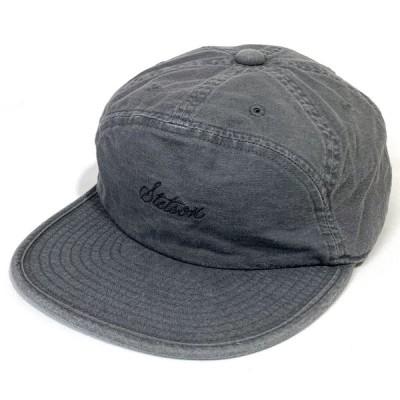 STETSON ステットソン ウォッシュドキャップ  CAP アウトドア 丸洗い ポケッタブル  普段使い クラッシャー 大きい 小さい 父の日 敬老の日 ギフト ブラック