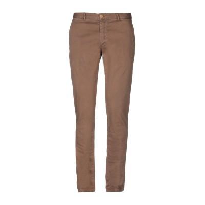 TWENTY-ONE パンツ ブラウン 46 コットン 98% / ポリウレタン 2% パンツ