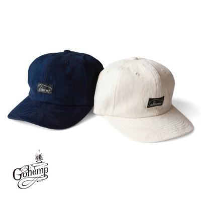 ゴーヘンプ GO HEMP gohemp 帽子 キャップ HEMP LEAF 6PANEL CAP / HEMP LEAF JACQUARD