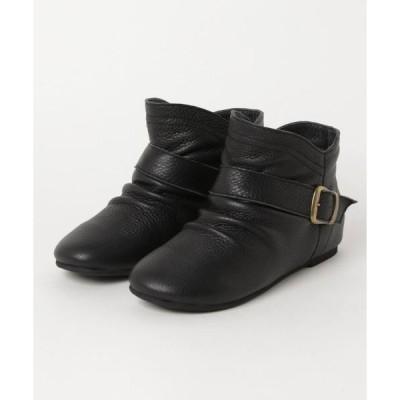 ブーツ pied du lapan/レザーショートブーツ_dni