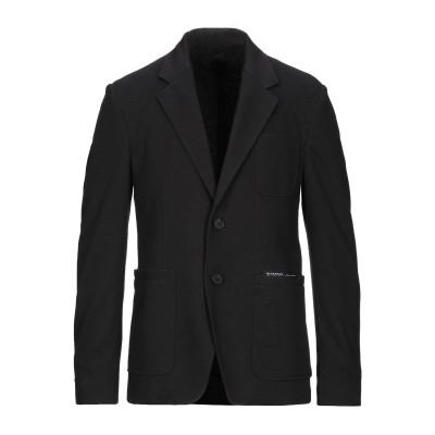 ジバンシィ GIVENCHY テーラードジャケット ブラック 46 ポリエステル 55% / コットン 45% テーラードジャケット