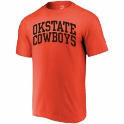 Alta Gracia アルタ グラシア スポーツ用品  Alta Gracia (Fair Trade) Oklahoma State Cowboys Orange Arched Wordmark T-