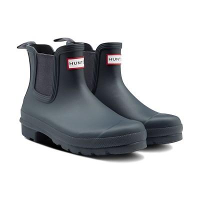 ハンター(HUNTER) レディース オリジナル チェルシー ブーツ ORIGINAL CHELSEA ネイビー WFS2078RMA NVY レインブーツ レインシューズ 長靴 雨具 カジュアル