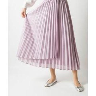 MILLION CARATS【STYLE4】シレ―レザープリーツスカート