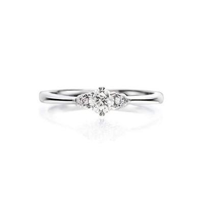 LEGAN エンゲージリング 婚約指輪 7号 永遠の輝き プラチナ ダイヤモンド 0.2ct UP ギフトボックス付