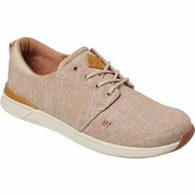リーフ スニーカー Rover Low TX Sneaker Khaki Linen