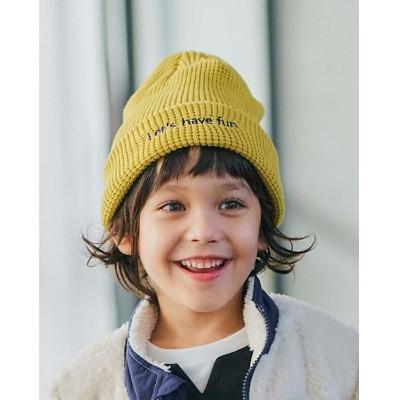 <SHOO・LA・RUE (Baby&Kids)/シューラルー> 2WAYニット帽 イエロー033【三越伊勢丹/公式】