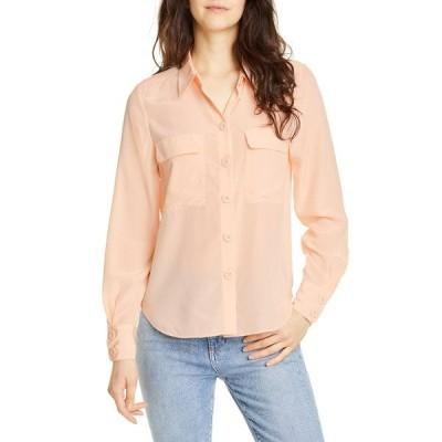 ジョア レディース シャツ トップス Eastona Silk Button Front Blouse FRAPPE