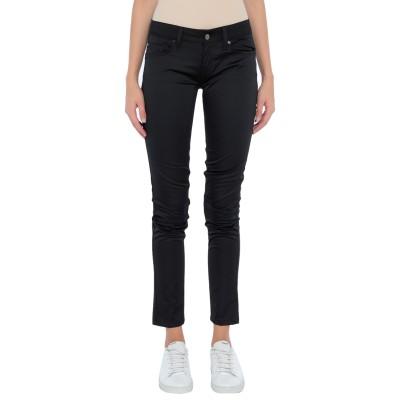 リュー ジョー LIU •JO パンツ ブラック 30 コットン 50% / ポリエステル 47% / ポリウレタン 3% パンツ