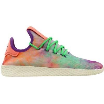 アディダス メンズ スニーカー シューズ Hu Holi Tennis Hu MC x Pharrell Williams Lace Up Sneakers