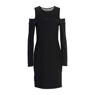 リュー ジョー LIU •JO ミニワンピース&ドレス ブラック L ポリエステル 95% / ポリウレタン 5% ミニワンピース&ドレス