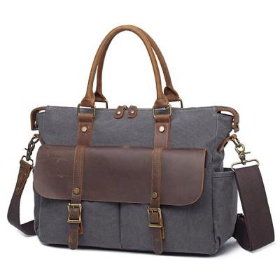 メンズアウトドア 旅行ハンドバッグ ヴィンテージクロスボディショルダーバッグ キャンバスデザイナーバッグ