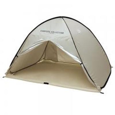 CampersCollection  タープ・シェルター ワンタッチ サンシェード   サンドベージュ