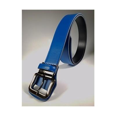 《ロング ベルト》SeaLand 野球 ベルト サイズ130cmまで:幅40mm ブルー 日本製