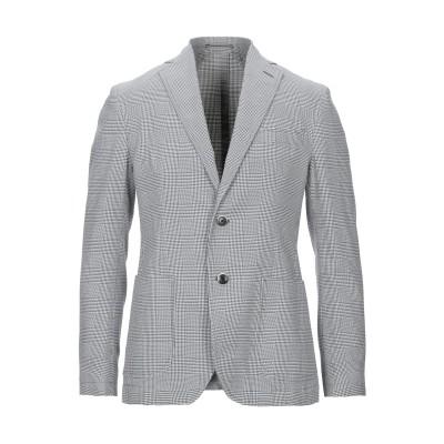 ローダ RODA テーラードジャケット グレー 48 ウール 100% テーラードジャケット