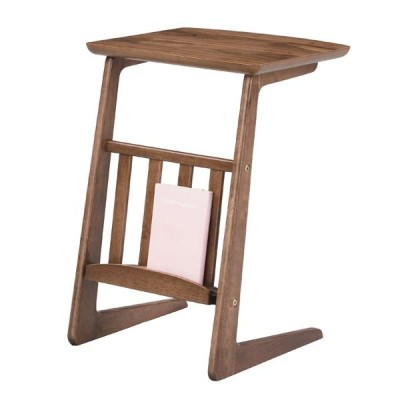 セレクト家具 tomte サイドテーブル 天然木 ラバーウッド ナチュラル AZTAC239WAL