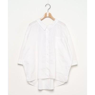 シャツ ブラウス 7分袖シャツ