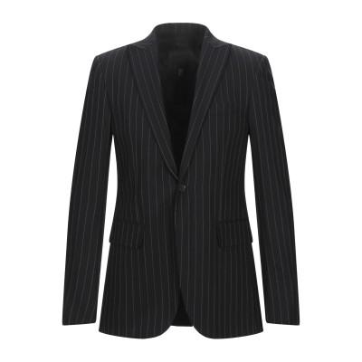 ジョン リッチモンド JOHN RICHMOND テーラードジャケット ブラック 50 レーヨン 52% / バージンウール 48% テーラードジャ