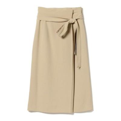 スカート 【洗える】Demi-Luxe BEAMS / ハイウエスト タイトスカート