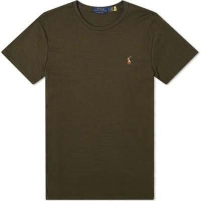 ラルフ ローレン Polo Ralph Lauren メンズ Tシャツ トップス Cotton Custom Tee Estate Olive