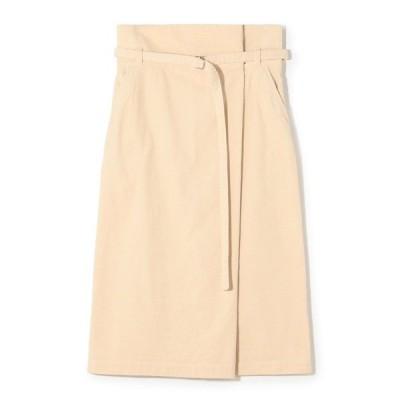 スカート ESTNATION / サマーコールウエストベルトタイトスカート