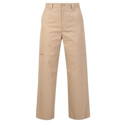 マルタンマルジェラ レディース カジュアルパンツ ボトムス MM6 Maison Margiela Wide-Leg Cropped Pants -