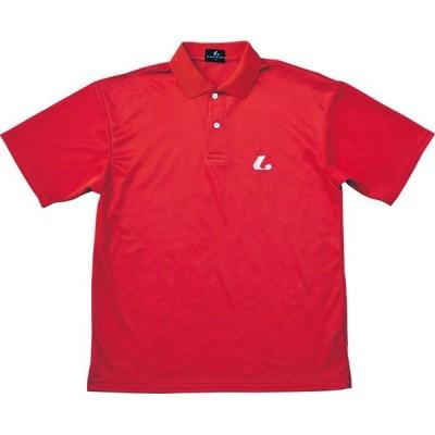 UNI ポロシャツ(レッド)  LUCENT ルーセント テニスゲームシャツ (XLP5101)