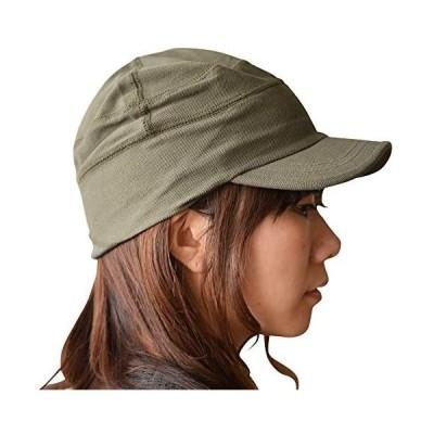帽子 ワークキャップ 大きいサイズ キャップ ビックサイズ 鹿の子 nakota ナコタ ポロメッシュ 通気性 (カーキ M)