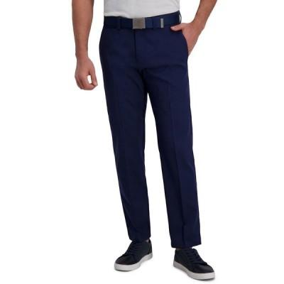 ハガール カジュアルパンツ ボトムス メンズ Cool Right Performance Flex Straight Fit Flat Front Pant Midnight