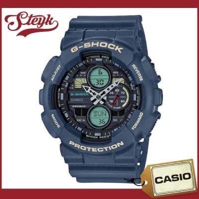 CASIO GA-140-2A カシオ 腕時計 アナデジ G-SHOCK Gショック メンズ ブラック ネイビー
