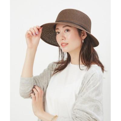 collex / 【紫外線対策】ペーパーつば広ハット WOMEN 帽子 > ハット